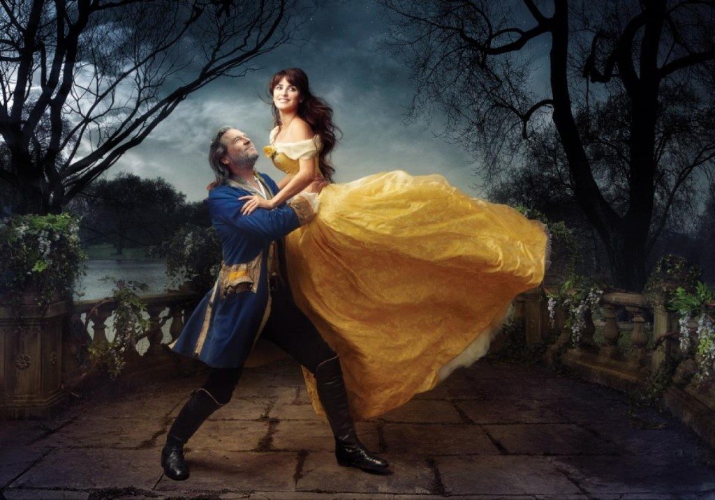 Penelope Cruz and Jeff Bridges as Beauty and the Beast Nerdipop