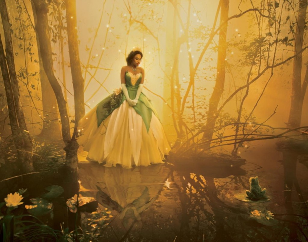 Jennifer Hudson as Princess Tiana from The Frog Prince Nerdipop