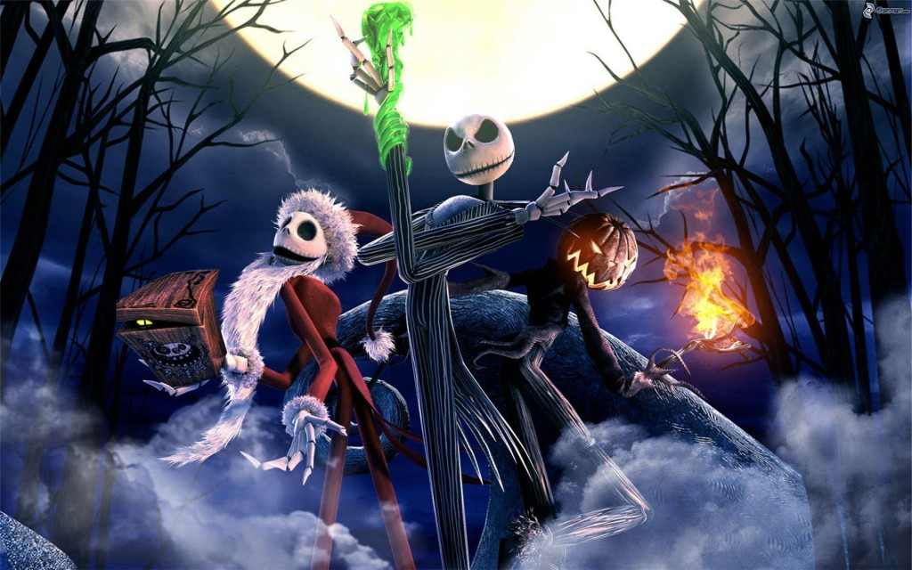 Tim-Burton-Nightmare-Before-Christmas-Halloween-Wallpaper Nerdipop