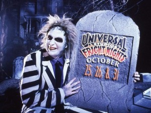 Beetlejuice at the Halloween Horror Nights in the early days of the Orlando park.