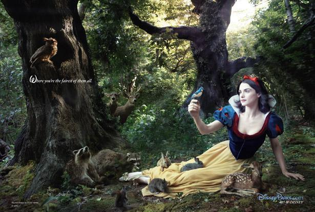 Rachel Weisz as Snow White Nerdipop