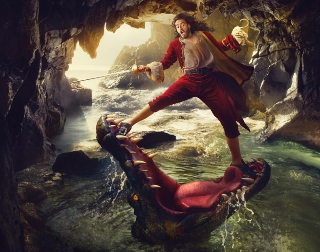 Russel Brand as Captain Hook from Peter Pan Nerdipop
