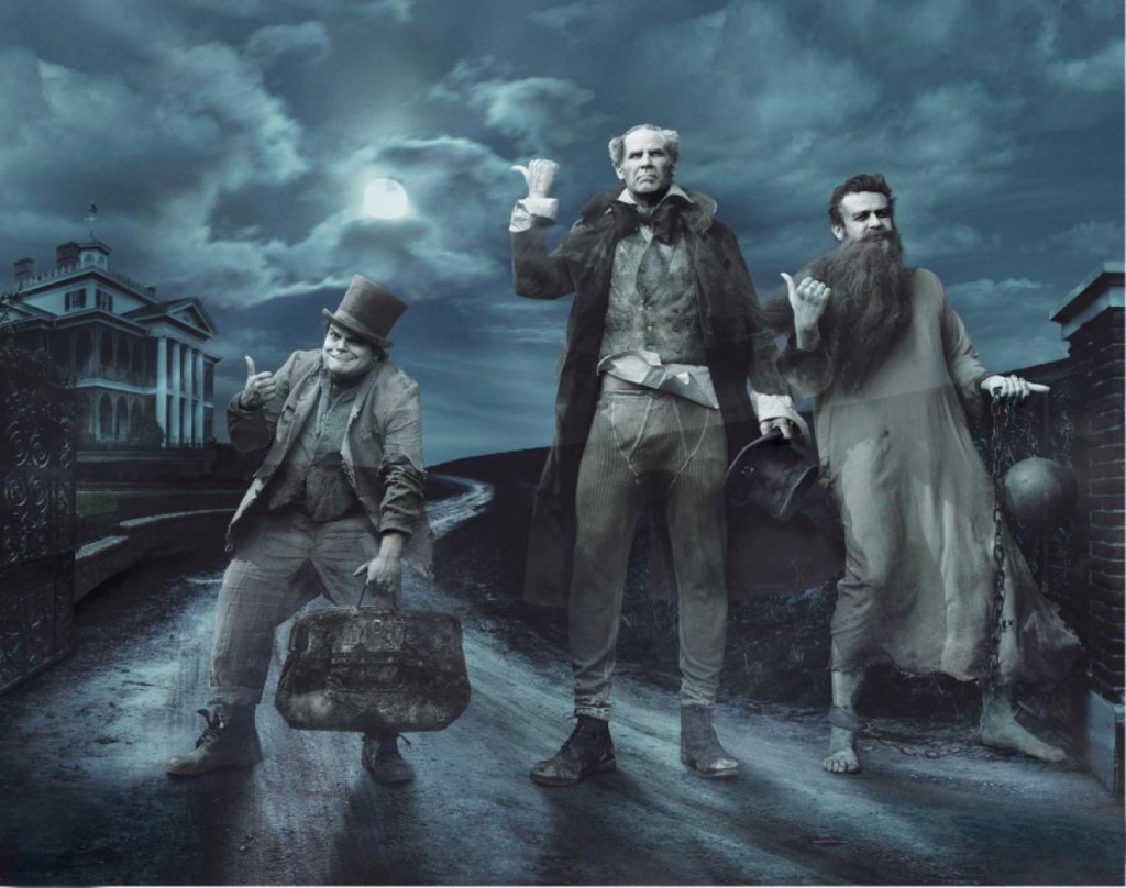 Jack Black, Will Ferrel and Jason Segal for the Haunted Mansion Nerdipop