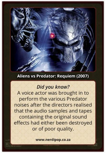 Alien Vs Predator 2 Requiem - Facts
