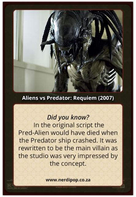 Alien Vs Predator 2 Requiem - Pred Alien Facts