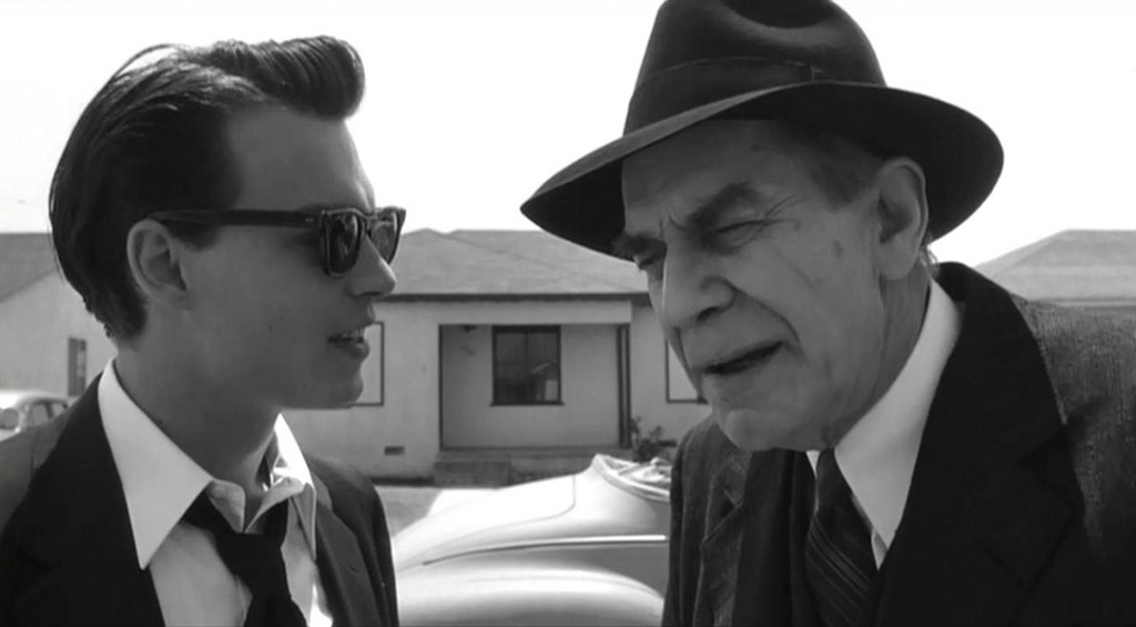 Ed Wood and Bela Lugosi Nerdipop