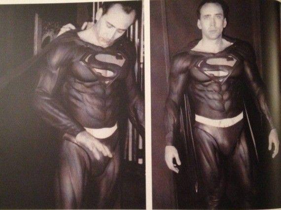 Nicholas Cage as Superman Nerdipop