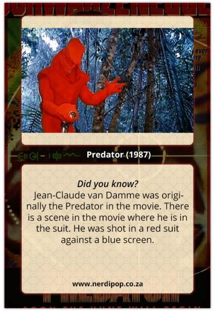Predator (1987) Facts