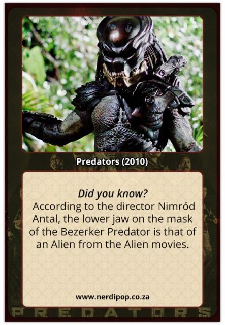 Predators (2010) Facts Beserker