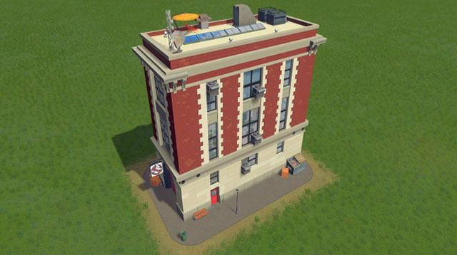 Cities Skylines Ghost Buster HQ