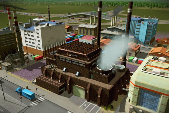 Cities Skylines Gula's Coal Power Plant Nerdipop