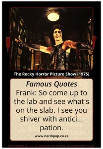 Rocky Horror Picture Show Famous Quotes