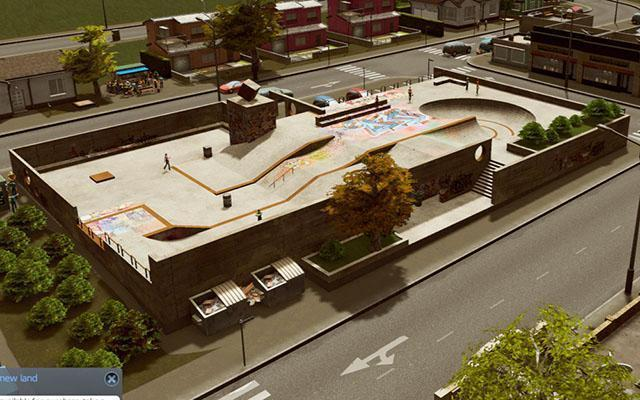 Cities Skylines Skate Park Nerdipop