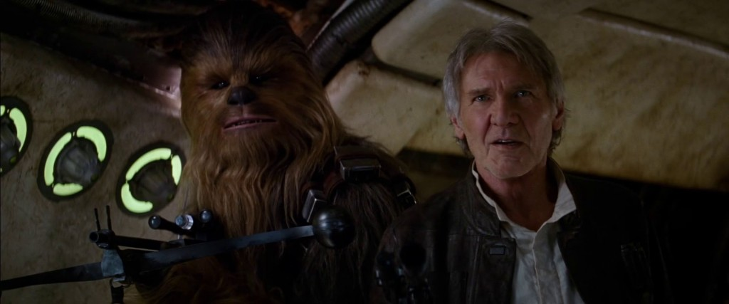 Star Wars Episode 7 - Han And Chewie Nerdipop