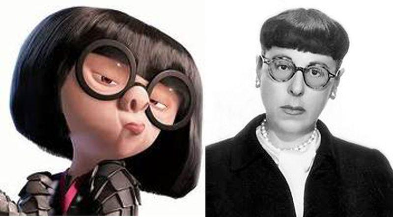 sc 1 st  NerdiPop! & Edna Mode (The Incredibles) vs Edith Head