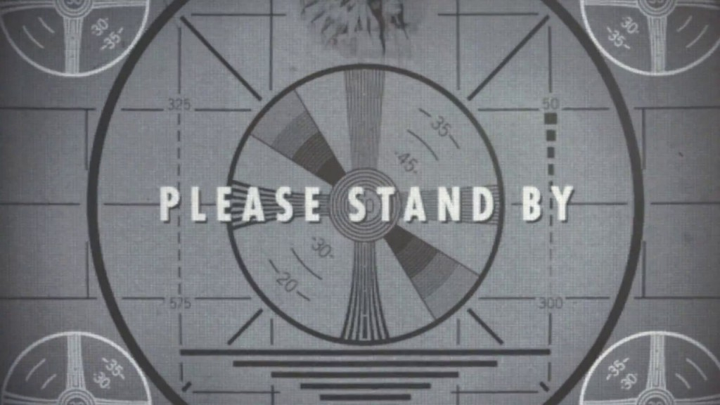 Fallout 4 - Please Stand by Nerdipop