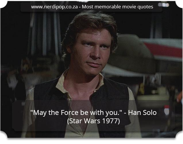 Most memorable movie quotes - Star Wars Nerdipop