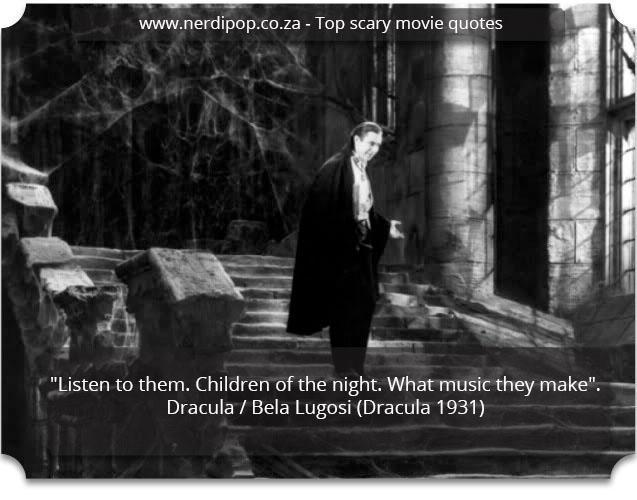 Scary Quotes - Dracula Nerdipop