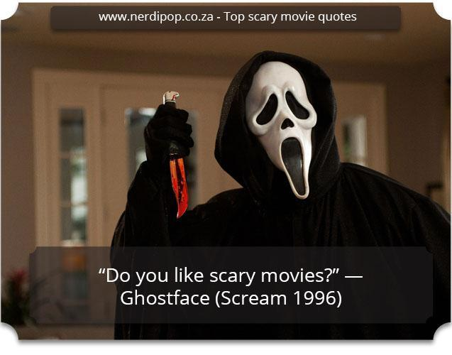 Scary Quotes - Scream Nerdipop