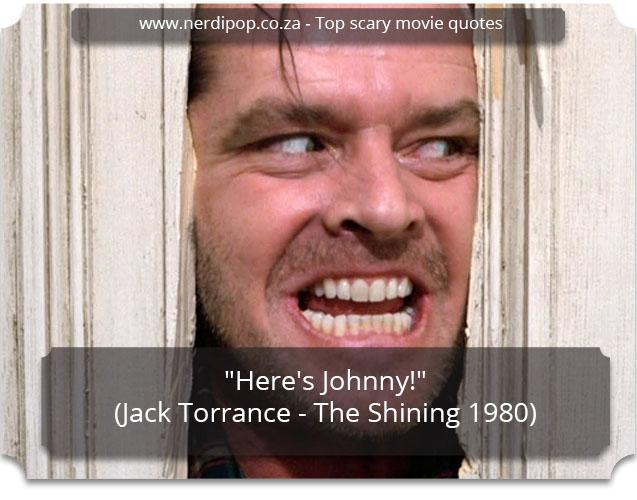 Scary Quotes - The Shining Nerdipop