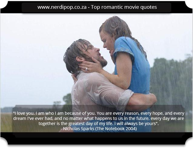 Top Romantic - The Notebook