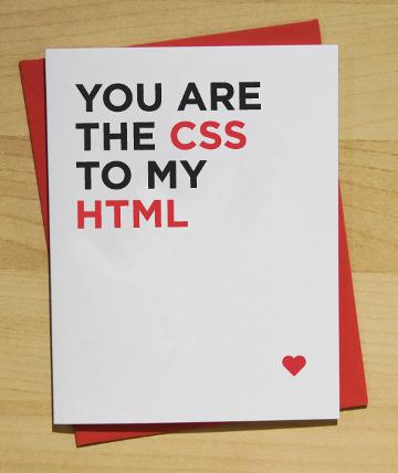 you-are-the-css-to-my-html Nerdipop