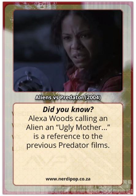 Aliens Vs Predators facts - one ugly mother