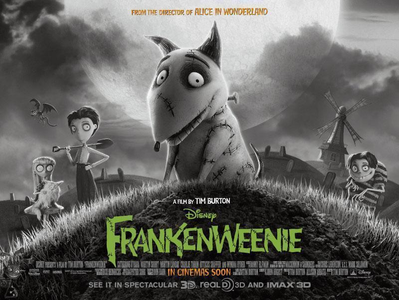Frankenweenie 1984 and 2012